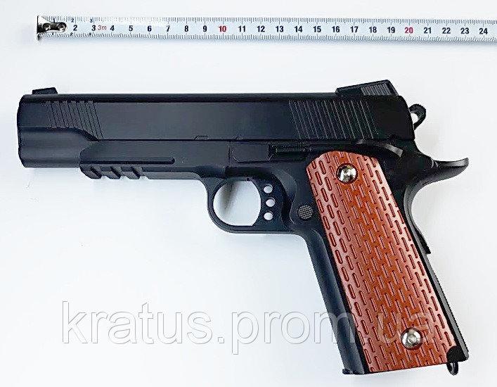 Пистолет металлический  J 10 (реплика Кольт M1911)
