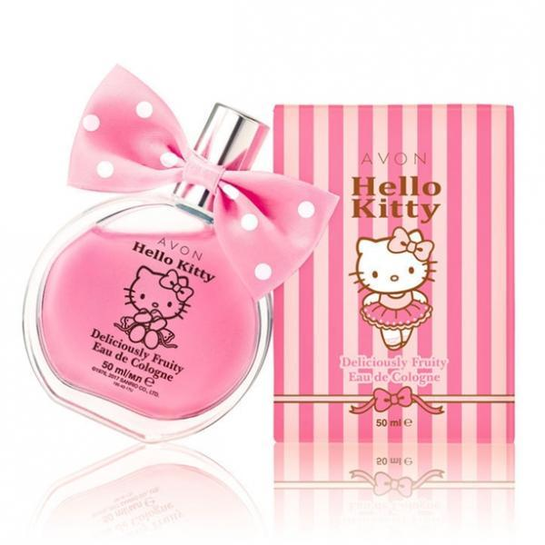 Фото для детей, детская косметика Детская туалетная вода Avon Hello Kitty (50 мл)