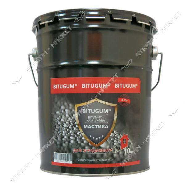 Мастика BITUGUM битумно-каучуковая 10кг