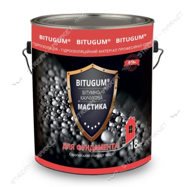 Мастика BITUGUM битумно-каучуковая 18кг