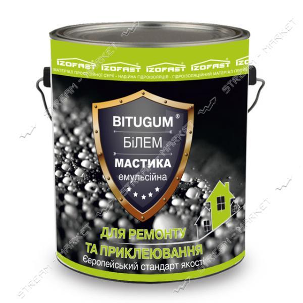 Мастика BITUGUM БиЭМ битумно-эмульсионная 10кг