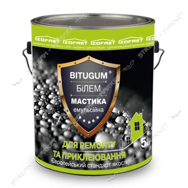 Мастика BITUGUM БиЭМ битумно-эмульсионная 5кг