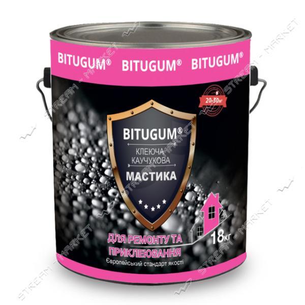 Мастика BITUGUM клеюще-каучуковая 18кг
