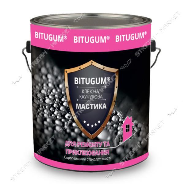 Мастика BITUGUM клеюще-каучуковая 3кг