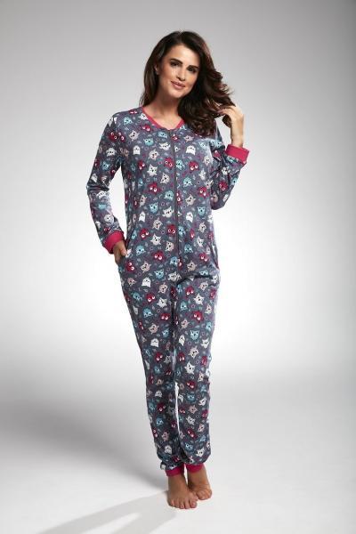 Женская пижама комбинезон KOMBINEZON CORNETTE PD-107/171_conf
