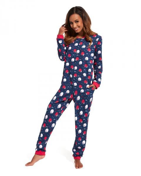 Женская пижама комбинезон KOMBINEZON CORNETTE PD-107/129_conf