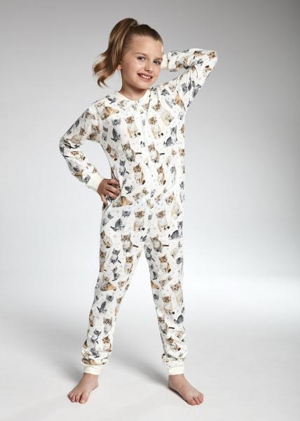 Пижама детская комбинезон для девочек KOMBINEZON CORNETTE KD-105/100_conf
