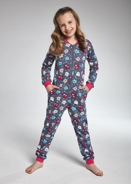 Пижама детская комбинезон для девочек KOMBINEZON CORNETTE KD-105/104_conf