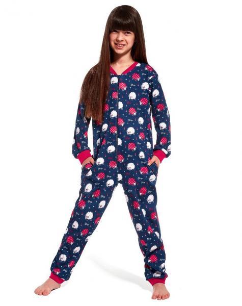 Пижама детская комбинезон для девочек KOMBINEZON CORNETTE KD-105/86_conf