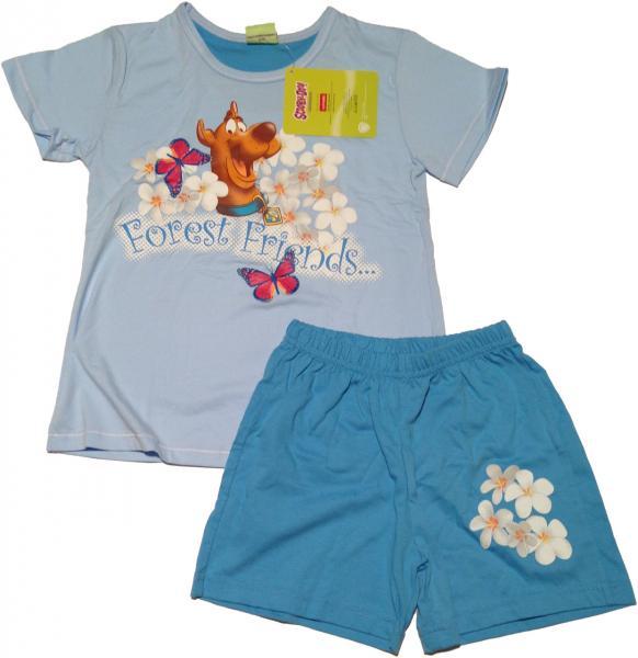 Пижама детская для девочек PIŻAMA CORNETTE SD-730 SCOOBY-DOO FOREST FRIENDS_conf