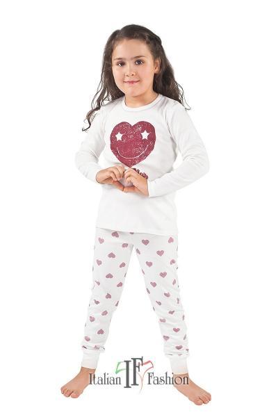 Пижама детская для девочек PIŻAMA I FASH ARIES DL DL 2-6L_conf