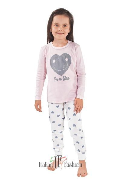Пижама детская для девочек PIŻAMA I FASH ARIES DL DL 8-14L_conf
