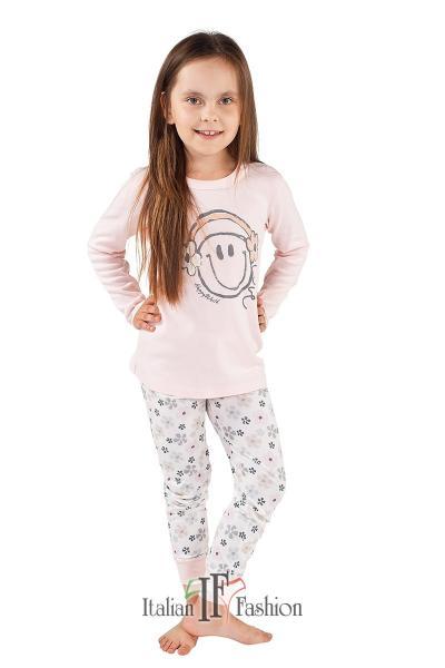 Пижама детская для девочек PIŻAMA I FASH FINEZJA DL DL 2-6L_conf