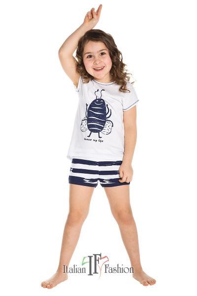 Пижама детская для девочек PIŻAMA I FASH NINKA DZ KR KR 2-6L_conf