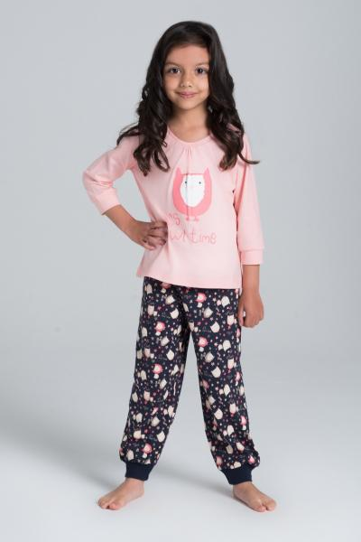 Пижама детская для девочек PIŻAMA ROSSLI SAG-PY-002_conf