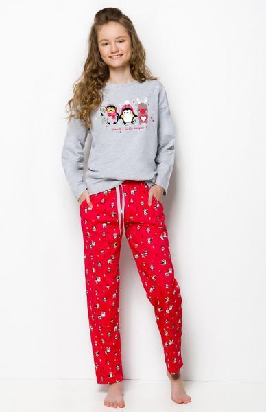 Пижама детская для девочек PIŻAMA TARO 1153 NADIA AW18_conf