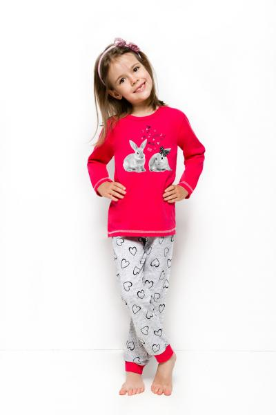 Пижама детская для девочек PIŻAMA TARO 1165 ELZA AW18_conf