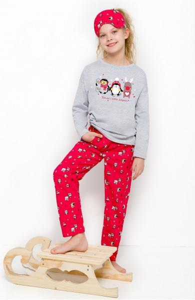 Пижама детская для девочек PIŻAMA TARO 2129 SOFIA AW18_conf