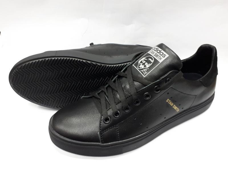 Мужские кожаные кеды Adidas. Украина
