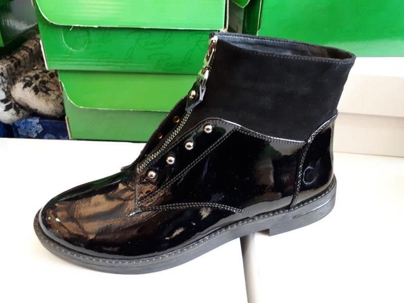 Женские лаковые ботинки! Украина