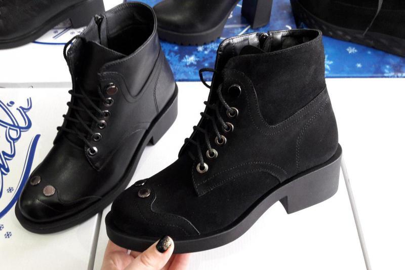 Ботинки женские замшевые! Украина