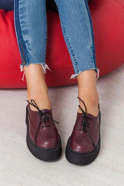 Женские кожаные туфли Doktor. Украина