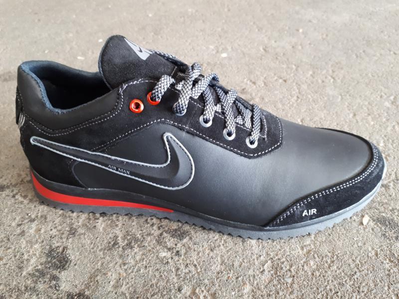 Мужские кроссовки Nike из натуральной кожи. Украина