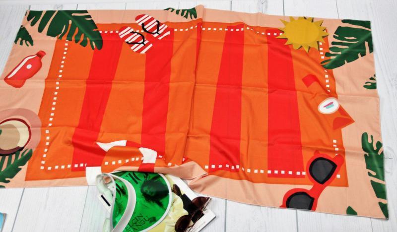 Пляжный коврик.
