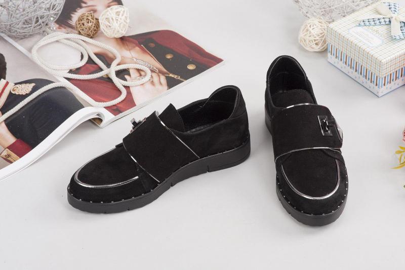 Женские замшевые туфли Пр@do.  Украина