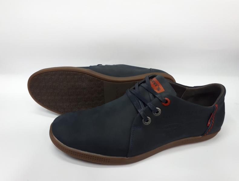 Мужские туфли Levis из натуральной кожи. Турция