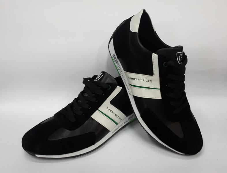 Мужские кожаные кроссовки Tommy Hilfiger. Украина