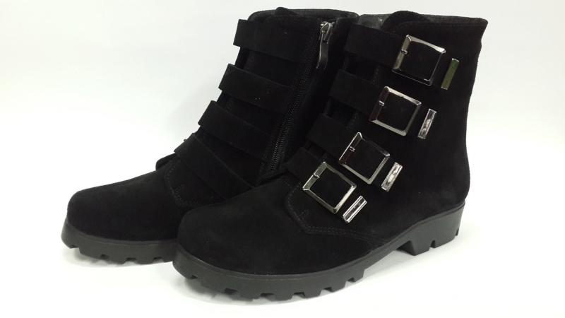 Стильный замшевые демисезонные ботинки! Украина