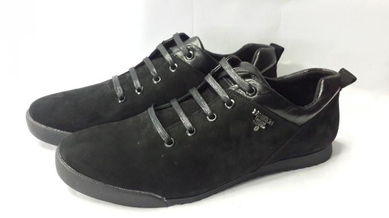 Мужские замшевые кроссовки. Украина