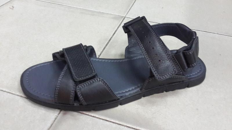 Мужские сандалии кожаные. Украина