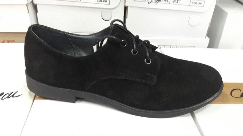 Туфли женские замшевые. Украина