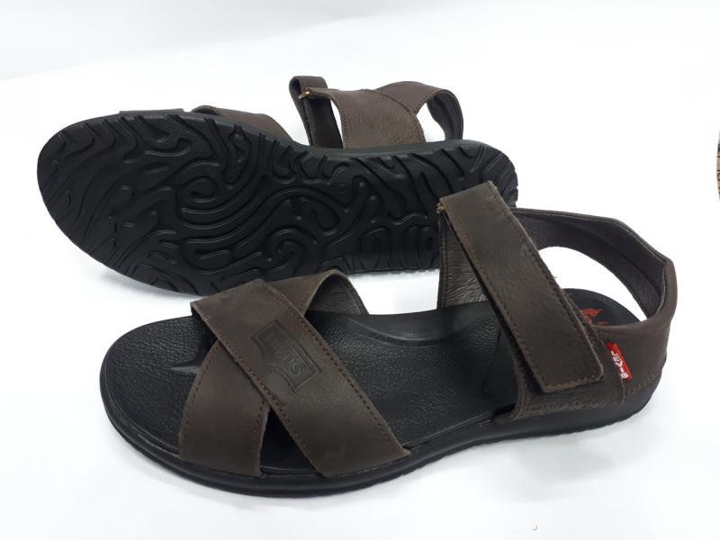 Мужские кожаные сандалии Levis. Украина