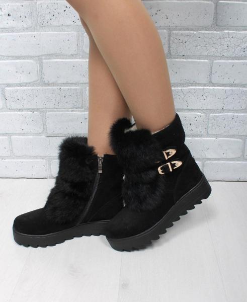 Стильный женские зимние ботинки с мехом! Украина