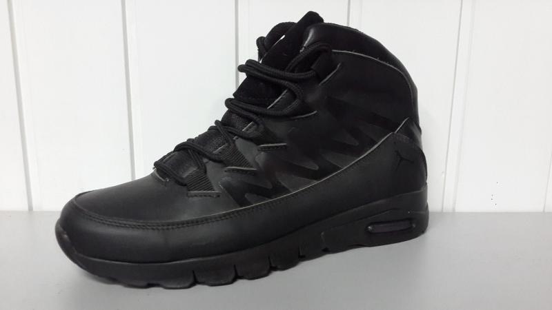 Зимние мужские кожаные ботинки Джордан. Харьков