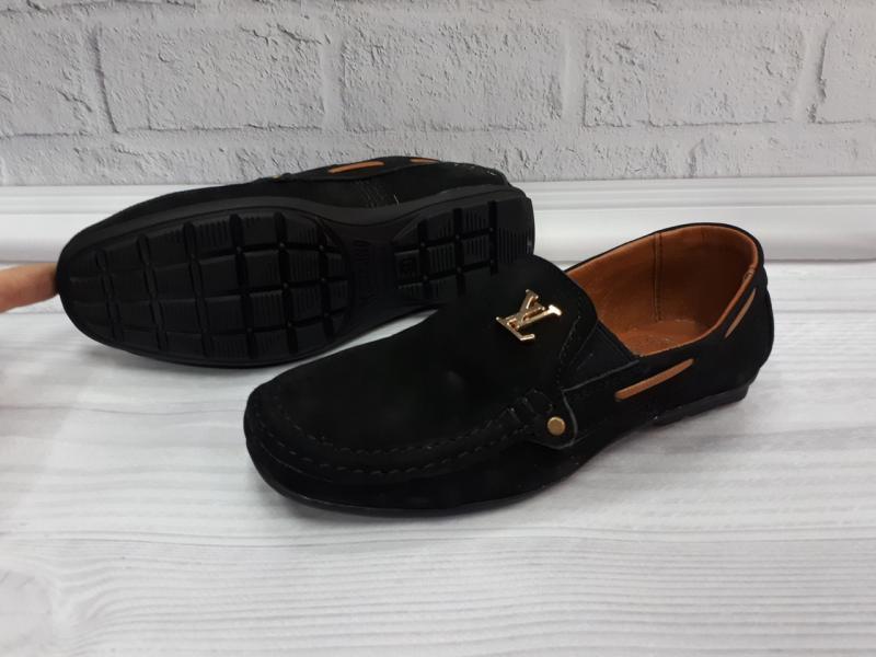 Детские подростковые туфли мокасины Louis Vuitton. Украина