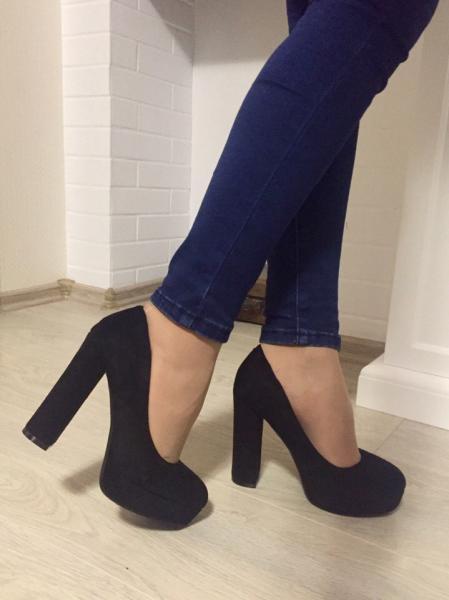 Женские туфли на каблуке код 201-17