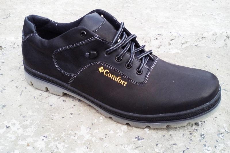 Мужские туфли батал с 46-49 р-р из натуральной кожи. Украина