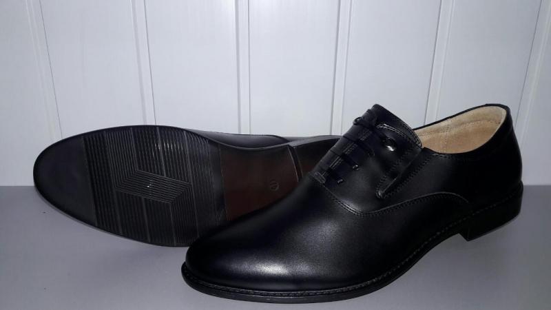 Мужские туфли из натуральной кожи. Украина