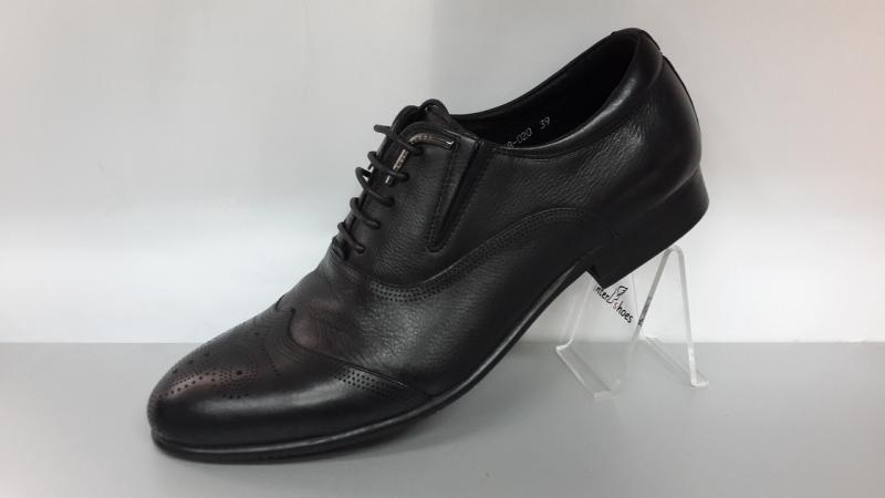 Мужские кожаные туфли - оксфорды Cosottinni.