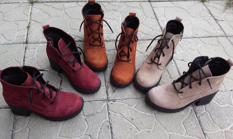 Стильные весенние ботинки. Украина