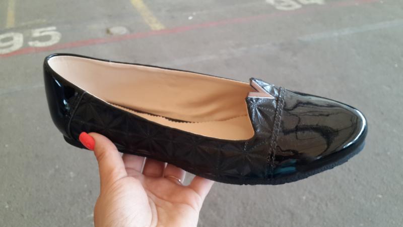 Женские лаковые туфли больших размеров. Украина