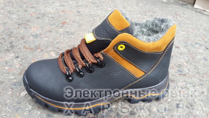 Подростковые зимние кожаные ботинки на мальчика. Харьков - Зимняя детская и подростковая обувь на рынке Барабашова