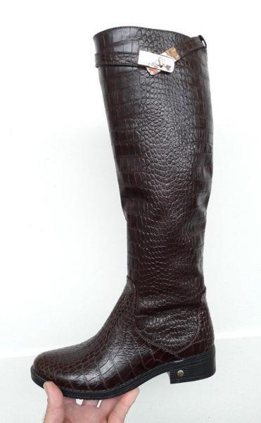 Зимние женские сапоги Hermès. Украина