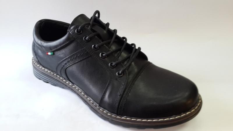 Мужские кожаные туфли на шнурках. Харьков