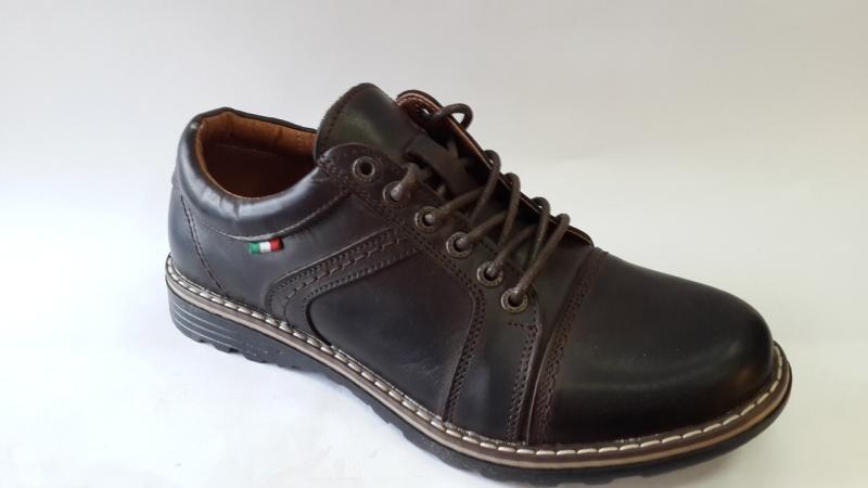 Мужские туфли коричневого цвета.Украина