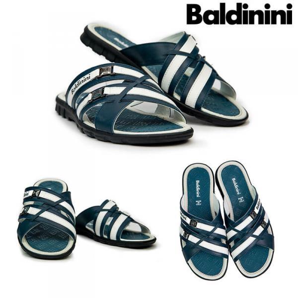 Шлепки мужские кожаные Baldinini. Украина